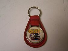 VINTAGE 1970s CHEVROLET CHEVY HIPPIE VAN LEATHER KEYCHAIN FAST SHIPPING