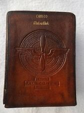 WWII U.S. AIR CORPS Leather Cigarette Case