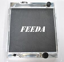 3ROW Aluminum Radiator FOR 1964-1966 FORD MUSTANG V8 Engine Automatic 1965
