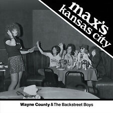 WAYNE COUNTY & the Backstreet Boys 'Max's Kansas City 1976' ltd WHITE vinyl 7""