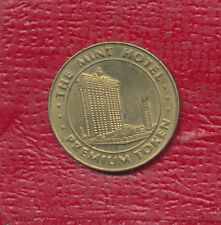 The Mint Hotel Casino Brass Premium Token Las Vegas Nevada