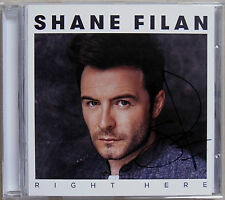 SHANE FILAN * RIGHT HERE * UK 10 TRK CD w/ SIGNED INSERT * BN&M! * WESTLIFE