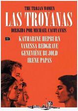 THE TROJAN WOMEN (1971) **Dvd R2** Katharine Hepburn, Vanessa Redgrave