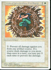 MAGIC THE GATHERING 4TH EDITION WHITE COP ARTIFACTS