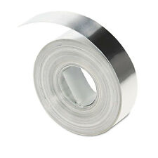 "DYMO Rhino Metal Label Non-Adhesive Tape, 1/2"" x 16 ft."