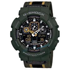 * Nuevo * Casio G-shock GA-100MC-3 reloj resistente a los golpes marca