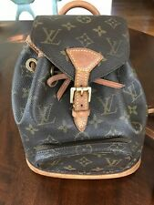 Louis Vuitton Monogram Mini (PM) Montsouris Backpack Made in France - US Seller!
