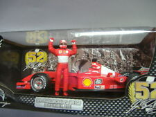 Mattel Hot Wheels Ferrari F2001 Michael Schumacher rot 1:18