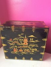 Vintage Huntley, Boorne and Stevens Oriental Casket Biscuit Tin,Huntley & Palmer