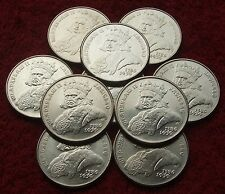 POLAND SET OF COINS 500 ZL KING VLADISLAV II JAGIELLO 1989 ONE PIECE LOT 1 PC