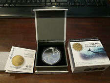 Israel 2010 Jonah In the Whale 2 Sheqalim Silver Coin Proof Award Coin