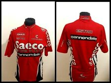 Maglia ciclismo cannondale saeco estro jersey radtrikot maillot cycling vintage