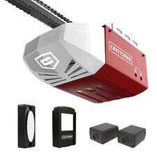 craftsman 12 hp ac series 100 chain cable drive system garage door opener wrail