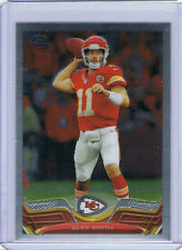 2013 TOPPS CHROME WRONGBACK ERROR - Alex Smith Chiefs - Arian Foster Texans