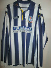 """West Bromwich Brom Albion 1994-1995 Home Football no 9 Shirt Size 42-44"""" /21824"""