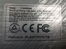 Flextronics F-X430046 24-Port SDR Infiniband Switch with Dual Power Supply