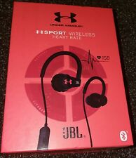 *NEW* - Under Armour JBL Sport Heart Rate Wireless In-Ear Headphones - Black