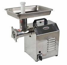 Hakka Electric #8 Industrial Commercial Butcher Shop Kitchen Meat Grinder  (TC8)