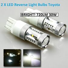 Toyota 6000K Cree LED Reverse Tail Light Bulb Globe 7440 7443