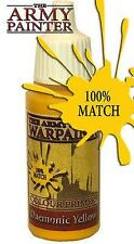 Army Painter Warpaints 18ML Bottle Acrylic Paint Daemonic Yellow TAP WP1107