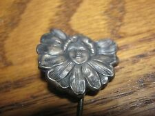WOW! Rare Antique Sterling  Hat Pin Art Nouveau