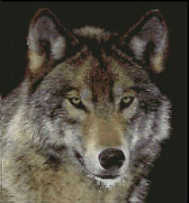 """Wolf 3 Complete Counted Cross Stitch Kit 10.5"""" x 10"""""""