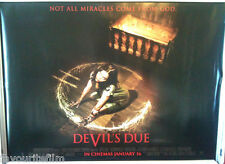 Cinema Poster: DEVIL'S DUE 2014 (Quad) Allison Miller Zach Gilford Sam Anderson