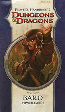 Dungeons & Dragons Players Handbook 2 Bard Cards