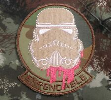 STORM TROOPER EXPENDABLE INFIDEL USA ARMY MORALE TACTICAL MULTICAM VELCRO PATCH
