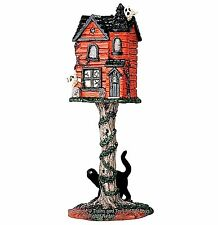 Lemax 64051 HAUNTED BIRDHOUSE Spooky Town Accessories Halloween Decor I