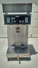 BUNN DUAL SH DBC BrewWise Commercial Coffee Brewer Maker w/Hot Water Tap & Cover