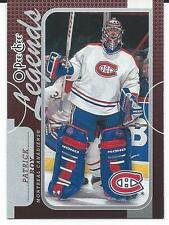 2008-09 OPC O-Pee-Chee PATRICK ROY #590 Legends Montreal Canadiens