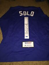 HOPE SOLO SIGNED AUTOGRAPHED TEAM USA USWNT SOCCER GOALIE JERSEY-TRISTAR COA