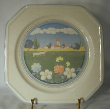 MIKASA china MEADOWS F3026 pattern Salad/Dessert Plate @ 8 3/8""