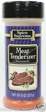 Spice Supreme® SEASONED MEAT TENDERIZER new & fresh USA MADE seasoning spices