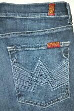 7 FAM For All Mankind Men's A Pocket Boot Cut Jeans 31 X 33 1/4 AWESOME EUC
