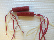 NEW set of 2 Radio Flyer Trike Replacement Red Hand Grips and streamers Tricycle