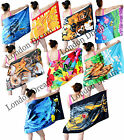 LARGE Light Weight Beach Bath Towel 100%Cotton Holiday Sports Swimming Gym Towel