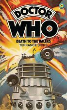DOCTOR WHO  DEATH TO THE DALEKS by TERRANCE DICKS  3rd DOCTOR  TARGET PAPERBACK
