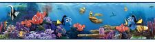 Disney Finding Nemo and Dory in Blue Sea on Sure Strip Wallpaper Border DS7687BD