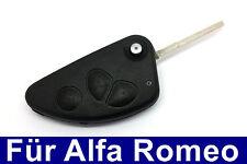 3Tasten Set Sfilare Il Corpo Chiave Anello per Alfa Romeo 147 156 166 GT