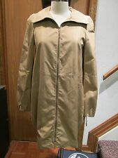 Akris Caramel Silk Coat Size 4
