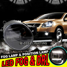 High Power LED Projector Fog Driving Lamp DRL Daytime Running Light For Nissan