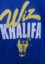Wiz Khalifa t shirt large for men hip hop urban