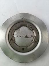 "Fittipaldi Wheel Center Hub Cap Silver M534D 6"" Diameter FIT8"