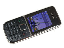 original Nokia C2-01 Black 3G Network Cell Phone  Unlocked free shipping