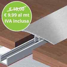 Profilo Di Raccordo Alluminio Asta Da 270 Cm per Pavimenti Laminati