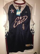 NBA-Adidas All Star 2007 East - Chris Bosh #4 Signed Jersey-Rare and Collectible