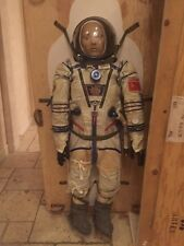 ORIGINAL FLOWN SOVIET SOKOL-KV-2 SPACESUIT WORN BY COSMONAUT SAVITSKAYA