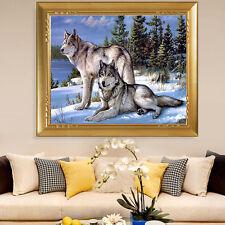 5D Diamant Malerei Wolf Stickerei Querheftungs Fertigkeit Home dekor